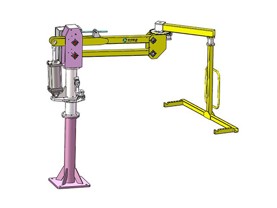 Pneumatic power assisted manipulator (hard arm type)